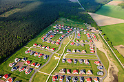 Nederland, Noord-Brabant, Gemeente Liessel, 27-05-2013; Roggel, Buitenhof de Leistert. Vakantiepark met luxe vakantiewoningen <br /> Holiday camp with luxury cottages.<br /> luchtfoto (toeslag op standaardtarieven);<br /> aerial photo (additional fee required);<br /> copyright foto/photo Siebe Swart.