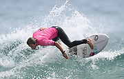 Raglan's Billy Stairmand wins the Open Men's Division final at the<br /> Surfing New Zealand National Championships 2021. Piha Beach, Auckland, New Zealand. Saturday 16 January 2021.<br /> © image by Andrew Cornaga / www.Photosport.nz