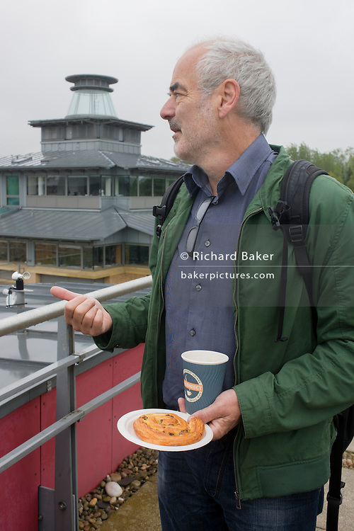 Mathematician and Risk guru, Professor David Spiegelhalter at the Centre for Mathematical Sciences at the University of Cambridge.