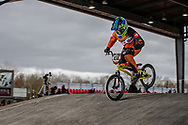 #434 (CALOZ Amaelle) SUI at the 2018 UCI BMX Superscross World Cup in Saint-Quentin-En-Yvelines, France.