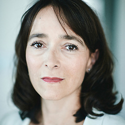 Paris, France. August 22, 2015. Delphine Ernotte-Cunci, the day she's taking office at France Television as CEO. Photo: Antoine Doyen