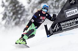 Patrizia Kummer of Switzerland during FIS Snowboard World Cup Rogla 2013 in Parallel Giant slalom, on February 8, 2013 in Rogla, Slovenia. (Photo By Vid Ponikvar / Sportida.com)