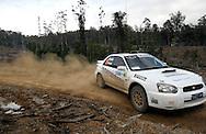 Eli Evans & Chris Murphy.Motorsport-Rally/2008 Coffs Coast Rally.Heat 2.Coffs Harbour, NSW.16th of November 2008.(C) Joel Strickland Photographics