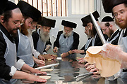 In order for the matza to be Kosher strict baking procedures must be followed, All hand made and under a strict watch of the Rabbi