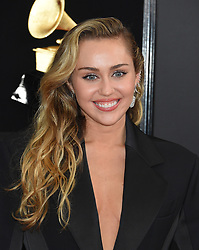 Stars at the 61st Annual Grammy Awards held at Staples Center on February 10, 2019 in Los Angeles. 10 Feb 2019 Pictured: Miley Cyrus. Photo credit: MEGA TheMegaAgency.com +1 888 505 6342