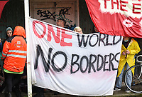 protests against continued use of Napier Barracks for asylum seekers<br /> 'Asylum seekers are being forced to live in prison-like conditions, with no release date and in complete violation of their fundamental human rights