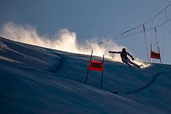 29.12.2018, Stelvio, Bormio, ITA, FIS Weltcup Ski Alpin, SuperG, Herren, im Bild Nils Allegre (FRA) // Nils Allegre of France in action during his run in the men's Super-G of FIS ski alpine world cup at the Stelvio in Bormio, Italy on 2018/12/29. EXPA Pictures © 2019, PhotoCredit: EXPA/ Johann Groder