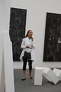 PRINCESS ALIA AL-SENUSSI, The VIP preview of Frieze. Regent's Park. London. 16 October 2013