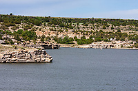 Clayton Lake State Park, New Mexico.