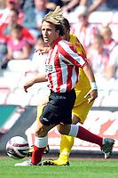 Football - Pre Season Friendly -  Darlington vs. Sunderland, Boudewijn Zenden (Sunderland) at The Arena