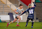 Wasps scrum-half Will Porter during the Gallagher Premiership Rugby match Sale Sharks -V- Wasps  at The AJ Bell Stadium, Greater Manchester, England United Kingdom, Sunday, December 27, 2020. (Steve Flynn/Image of Sport)