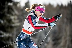 January 1, 2018 - Stockholm, Sweden - Jessica Diggins. 10 km fristil, damer och 15 km fristil herrar. Tour de Ski, Lenzerheide (Credit Image: © Orre Pontus/Aftonbladet/IBL via ZUMA Wire)