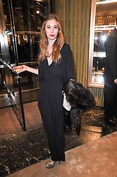 ANOUSHKA BECKWITH at a Cocktail party to celebrate the opening of the new Miu Miu boutique, 150 New Bond Street, London hosted by Miuccia Prada and Patrizio Bertelli on 3rd December 2010.