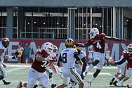 MIchigan at Indiana, Bloomington in NCAA Division I, October 14, 2017