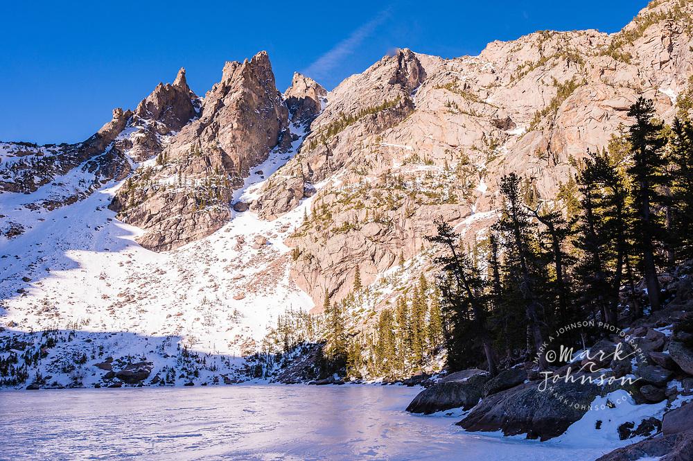 Emerald Lake, Rocky Mountain National Park, Colorado, USA