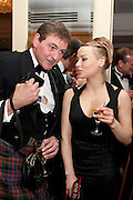 VASILISA KOMAROVA; PHOTOGRAPHER JOCELYN BAIN HOGG, The Royal Caledonian Ball 2011. In aid of the Royal Caledonian Ball Trust. Grosvenor House. London. W1. 13 May 2011.<br /> <br />  , -DO NOT ARCHIVE-© Copyright Photograph by Dafydd Jones. 248 Clapham Rd. London SW9 0PZ. Tel 0207 820 0771. www.dafjones.com.