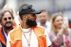 May 26, 2019 - Monte Carlo, Monaco - Motorsports: FIA Formula One World Championship 2019, Grand Prix of Monaco, ..Odell Beckham jr  (Credit Image: © Hoch Zwei via ZUMA Wire)