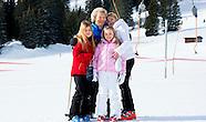 King Willem-Alexander, Queen Maxima, Princess Amalia, Princess Alexia, Princess Ariane lech 2015