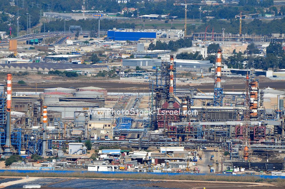 Israel, Haifa Petrochemical factory