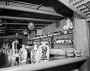 """Ackroyd-09170-04. """"Benson Hotel. Trader Vic's decor. July 13, 1959"""" (this is the month it opened.)"""