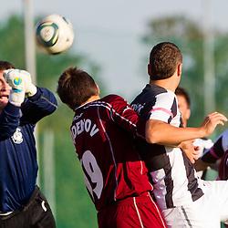20111016: SLO, Football - PrvaLiga, NK Triglav Gorenjska vs NK Mura