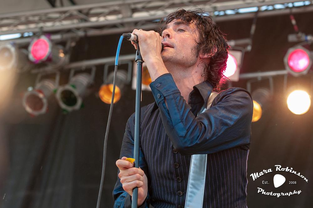 Jon Spencer Blues Explosion at Pitchfork Music Festival by best Cleveland rock photographer Mara Robinson