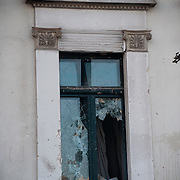 Facade of Agrotiki bank in Panepistimiou street during the the protests in Athens against the  unpopular austerity measures, June 29, 2011