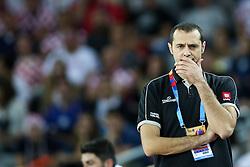 Marijan Srbinovski, head coach of Macedonia during basketball match between Croatia vs Macedonia at Day 4 in Group C of FIBA Europe Eurobasket 2015, on September 8, 2015, in Arena Zagreb, Croatia. Photo by Matic Klansek Velej / Sportida