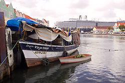Small Boat Near Market