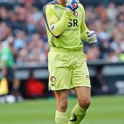 NLD/Rotterdam/20100919 - Voetbalwedstrijd Feyenoord - Ajax 2010, keeper Rob van Dijk