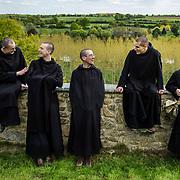 Moment of fraternal life between the novices of Solesmes abbey. 03-05-16 <br /> Moment de vie fraternelle entre les novices de l'abbaye de Solesmes. 03-05-16