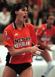 19-06-1998 VOLLEYBAL: NEDERLAND - CHINA: AMSTERDAM<br /> Francien Huurman<br /> ©1998-WWW.FOTOHOOGENDOORN.NL