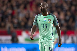 September 3, 2017 - Budapest, Hungary - Danilo of Portugal looks on during the FIFA World Cup 2018 Qualifying Round match between Hungary and Portugal at Groupama Arena in Budapest, Hungary on September 3, 2017  (Credit Image: © Andrew Surma/NurPhoto via ZUMA Press)