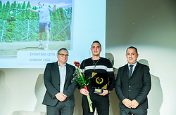 Boro Strumbelj, Marino Kegl and Damijan Lazar during Slovenian Disabled Sports personality of the year 2017 event, on December 6, 2017 in Austria Trend Hotel, Ljubljana, Slovenia. Photo by Vid Ponikvar / Sportida