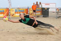 20160723 NED: NK Beachvolleybal 2016, Scheveningen <br />Raisa Schoon<br />©2016-FotoHoogendoorn.nl / Pim Waslander