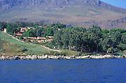 Development of tourist villas on the coast at Scopello, Siciliy, Italy