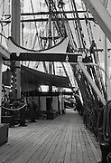 Three masted sailing barque James Craig , Sydney Australia <br />