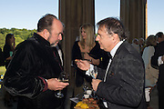WILLIAM DALRYMPLE; RAYMOND BLANC, , Opening of Grange Park Opera, Fiddler on the Roof, Grange Park Opera, Bishop's Sutton, <br /> Alresford, 4 June 2015
