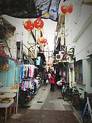 Hong Kong Cheung Chau Island backstreet