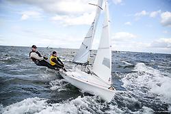 , Kiel - SAP 505er World Championship 2014, 505er, AUS 9134, Michael QUIRK, John WARLOW,