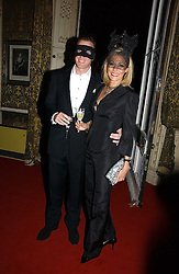 RUPERT ADAMS and his wife NADJA SWAROVSKI  at the 2006 Moet & Chandon Fashion Tribute in honour of photographer Nick Knight, held at Strawberry Hill House, Twickenham, Middlesex on 24th October 2006.<br /><br />NON EXCLUSIVE - WORLD RIGHTS