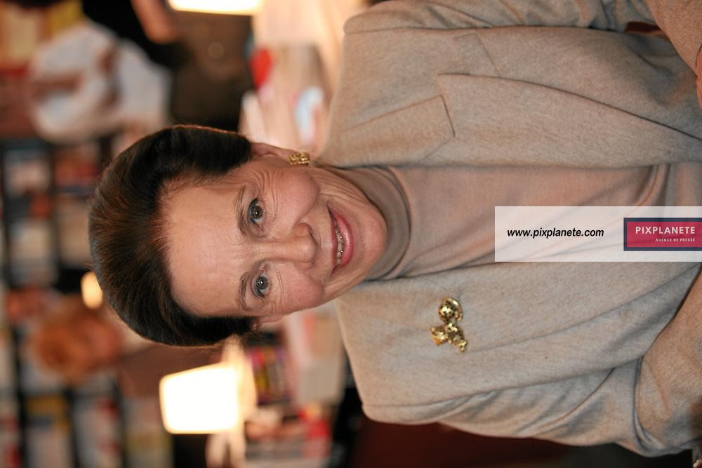 Marie France Garaud - Salon du livre 2007 - Paris, le 24/02/2007 - JSB / PixPlanete
