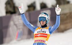 06.01.2015, Paul Ausserleitner Schanze, Bischofshofen, AUT, FIS Ski Sprung Weltcup, 63. Vierschanzentournee, Finale, im Bild Michael Hayboeck (AUT) // Michael Hayboeck of Austria during Final Jump of 63rd Four Hills <br /> Tournament of FIS Ski Jumping World Cup at the Paul Ausserleitner Schanze, Bischofshofen, Austria on 2015/01/06. EXPA Pictures © 2015, PhotoCredit: EXPA/ JFK