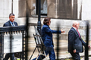 Johnny Depp leaves the High Court in London, Thursday, July 9, 2020. (VXP Photo/ Vudi Xhymshiti)