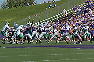 Kansas State kicker Jeff Snodgrass (19) kicks a 48-yard field goal, to put the Wildcats up 16-7 over Marshall in the third quarter, at Bill Snyder Family Stadium in Manhattan, Kansas, September 16, 2006.  The Wildcats beat the Thundering Herd 23-7.