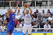 TRENTO, 26/07/2012<br /> TRENTINO BASKET CUP 2012<br /> ITALIA - BOSNIA ED ERZEGOVINA<br /> NELLA FOTO: PIETRO ARADORI<br /> FOTO CIAMILLO