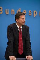 DEU, Deutschland, Germany, Berlin, 11.01.2017: Regierungssprecher Steffen Seibert in der Bundespressekonferenz.