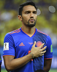 June 25, 2018 - Kazan, Russia - Abel Aguilar of Colombia during the 2018 FIFA World Cup Group H match between Poland and Colombia at Kazan Arena in Kazan, Russia on June 24, 2018  (Credit Image: © Andrew Surma/NurPhoto via ZUMA Press)
