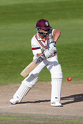 Alfonso Thomas of Somerset in action - Mandatory byline: Rogan Thomson/JMP - 07966 386802 - 24/09/2015 - CRICKET - The County Ground - Taunton, England - Somerset v Warwickshire - Day 3 - LV= County Championship Division One.