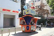 Israel, Tel Aviv, lottery booth